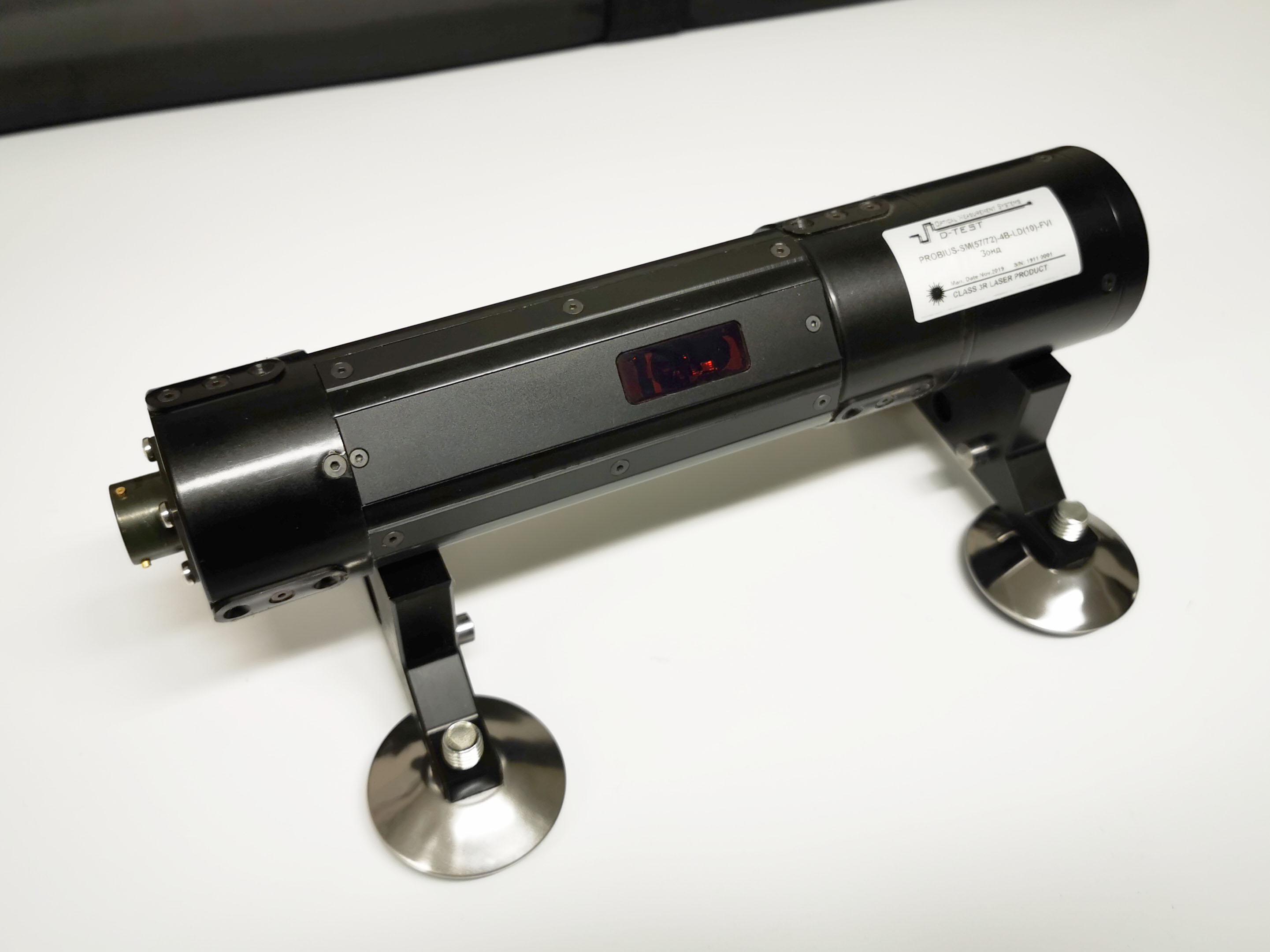 Прибор для видеоконтроля и лазерного измерения внутреннего диаметра и профиля внутренней поверхности труб
